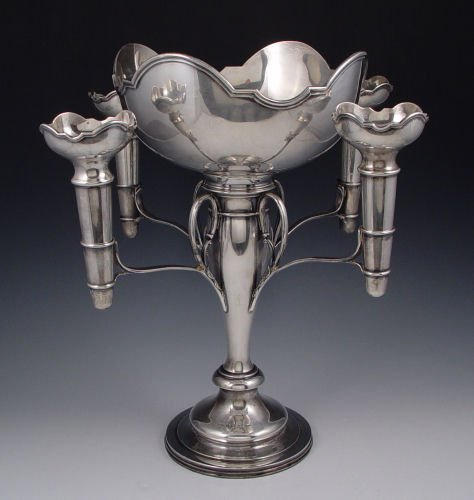 1001: WILMOT ENGLISH STERLING EPERGNE