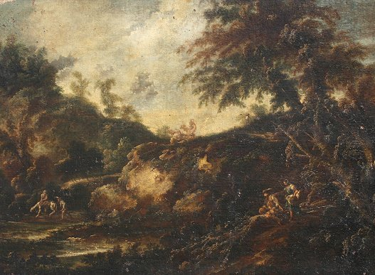 1010: IMPORTANT OLD MASTER LANDSCAPE PAINTING