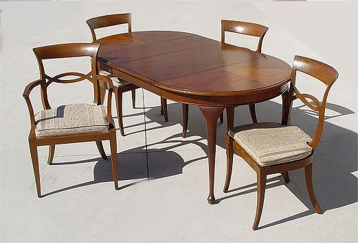 1161: HENREDON FOLIO 4 FOUR DINING TABLE U0026 CHAIRS