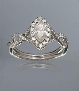 18K 94 CTW DIAMOND RING