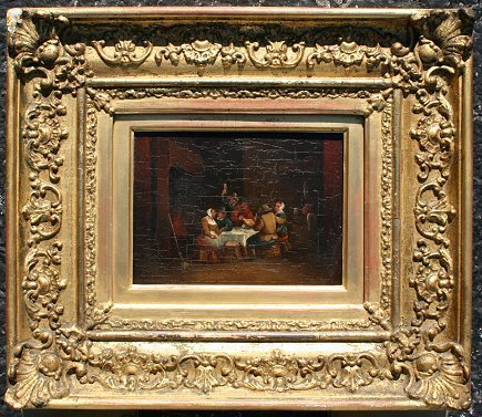 15: CIRCLE OF TENIERS TAVERN PAINTING
