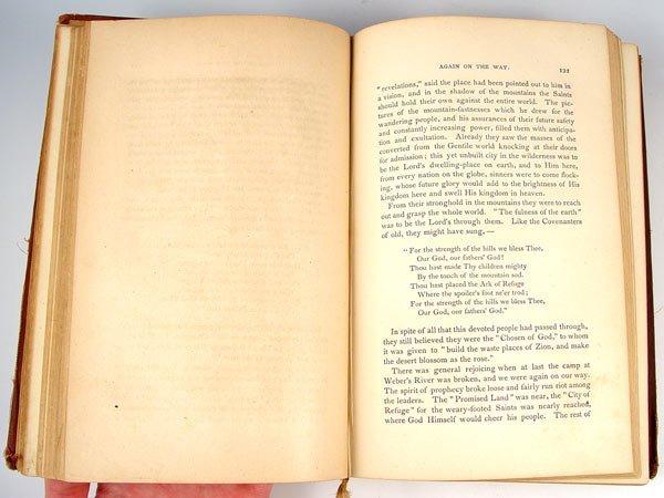 32A: 1875 WIFE NO. 19 ANN ELIZA YOUNG MORMON BOOK - 3