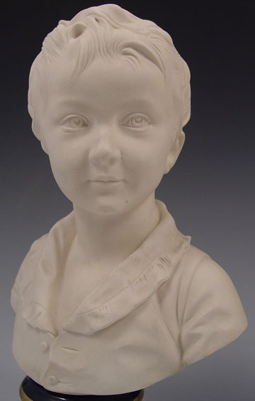 13: SEVRES BRONGNIART CHILDREN BUSTS AFTER HOUDON - 2