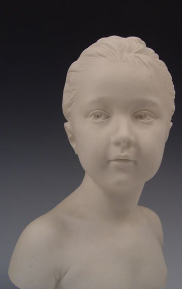 13: SEVRES BRONGNIART CHILDREN BUSTS AFTER HOUDON - 3