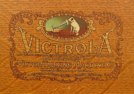 255: 1919 GOLDEN OAK VICTOR VICTROLA VV XI - 5