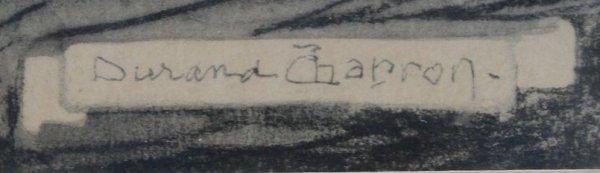 148: DURAND CHAPRON SPANISH GALLEON PAINTING - 2