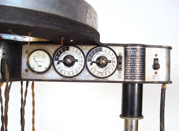 159: VINTAGE HELENE CURTIS DUCHESS HAIR CURLER MACHINE - 2