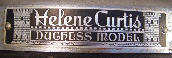 159: VINTAGE HELENE CURTIS DUCHESS HAIR CURLER MACHINE - 3