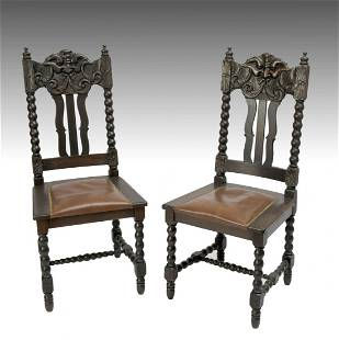 PAIR OF OAK NORTHWIND CHAIRS