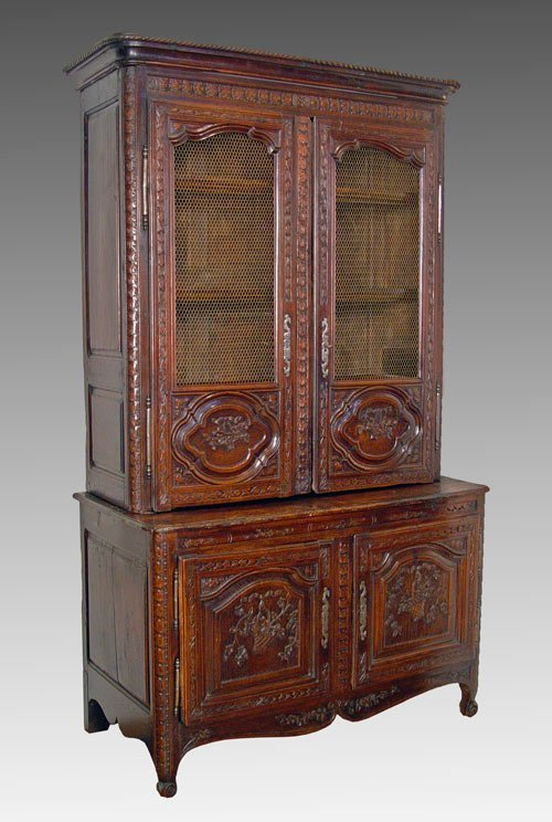 11: 18TH C LOUIS XV NORMANDY FRENCH CUPBOARD