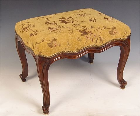 15: 18th C FRENCH TABOURET