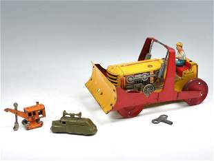3 PIECE TIN TOY COLLECTION
