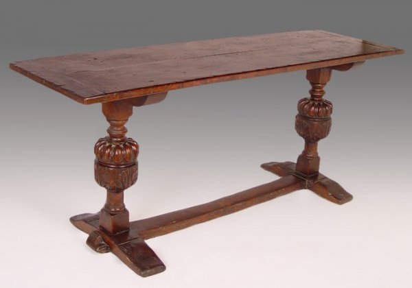 6: ELIZABETHAN REFECTORY TABLE