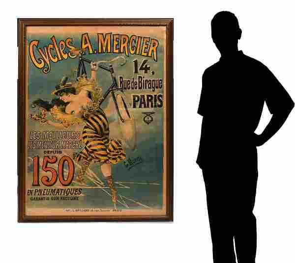 FRENCH BICYCLE POSTER