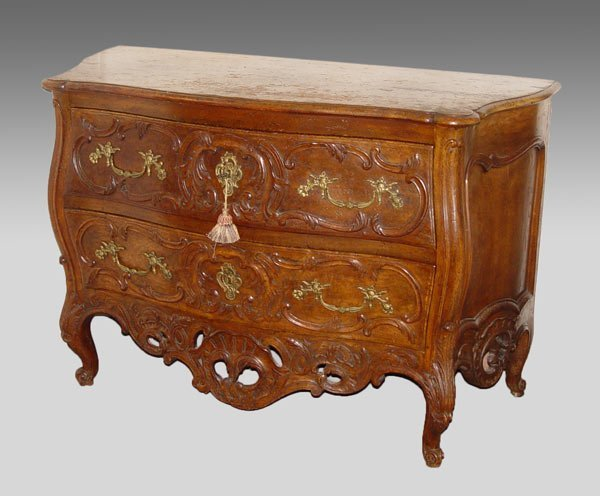 7: ITALIAN CARVED COMMODE