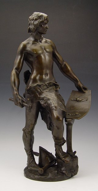 10: ANDRE MASSOULE BLACKSMITH BRONZE