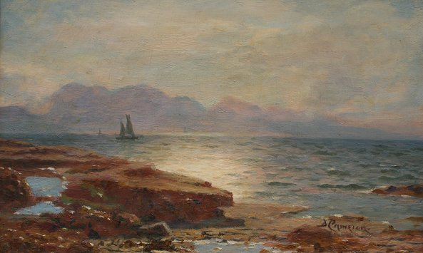 24: DUNCAN CAMERON ARRAN COAST SCOTTISH PAINTING