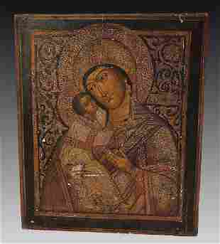 EARLY FINE RUSSIAN? ICON PAINTING