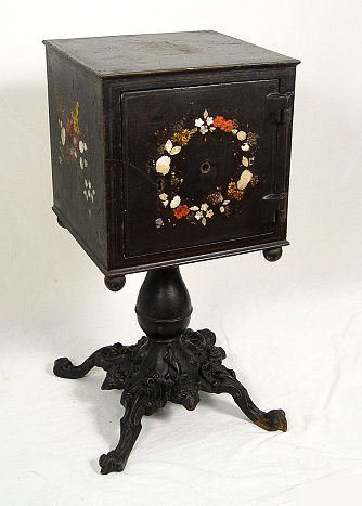 20: VICTORIAN CAST IRON PERSONAL SAFE