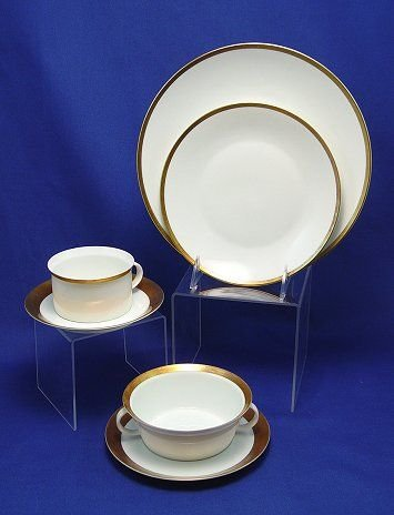 450: CLASSIC GOLD RIM ROSENTHAL CHINA SERVICE 45 PC
