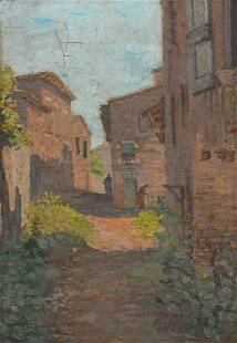 EXHIBITED PAINTING BY MAURICE GILLY