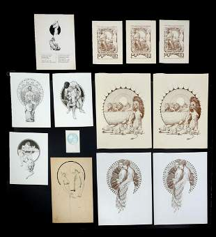 RICHARD ROESENER LITHOGRAPH COLLECTION