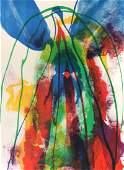 PAUL JENKINS ABSTRACT LITHOGRAPH ARTIST PROOF