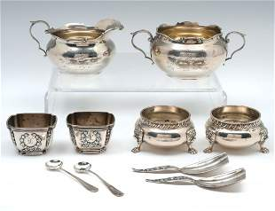 10 PC. STERLING SILVER COLLECTION