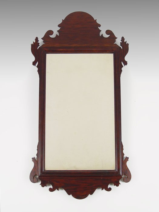 7: EARLY 19th C CHIPPENDALE MIRROR