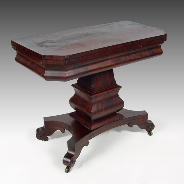 19A: AMERICAN EMPIRE PERIOD GAME TABLE