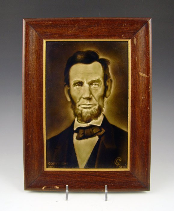 7: 1909 SHERWIN & COTTON A. LINCOLN CERAMIC TILE