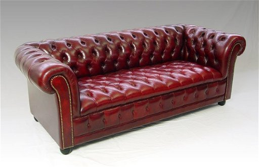 Remarkable 117 Red Leather Chesterfield Sofa Bralicious Painted Fabric Chair Ideas Braliciousco