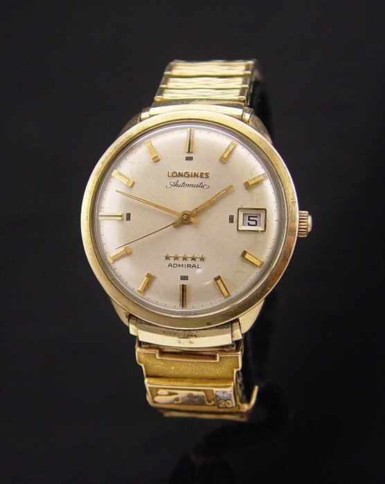 6: LONGINES ADMIRAL WRISTWATCH