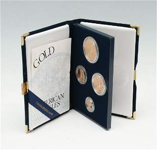 1997 AMERICAN EAGLE GOLD 4- COIN PROOF SET