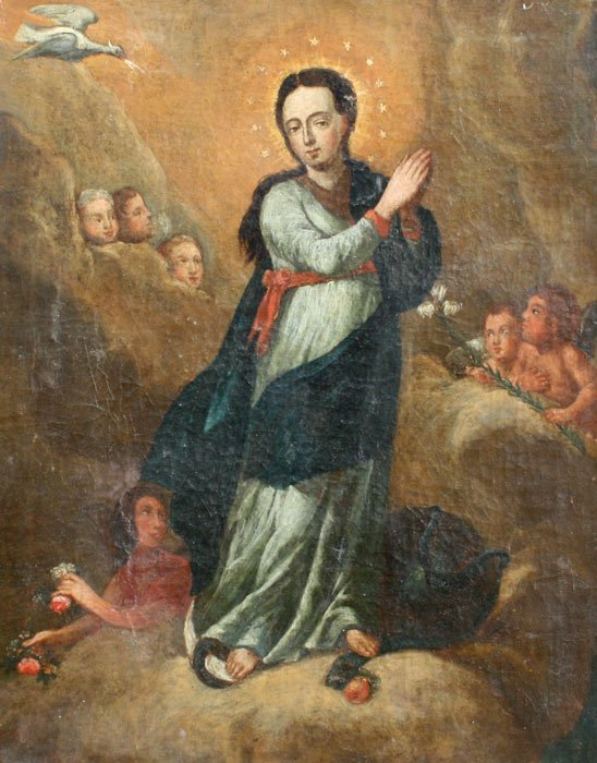 15: EARLY SPANISH/RELIGIOUS PAINTING