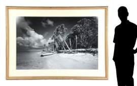 LARGE FORMAT CLYDE BUTCHER FLORIDA PHOTOGRAPH CAYA