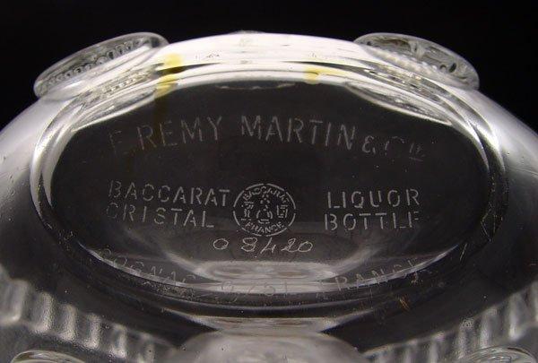 91: REMY MARTIN LOUIS XIII BACCARAT COGNAC BOTTLE - 6