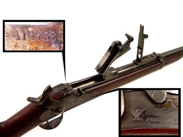 164: MODEL 1884 US SPRINGFIELD TRAPDOOR CARBINE - 3