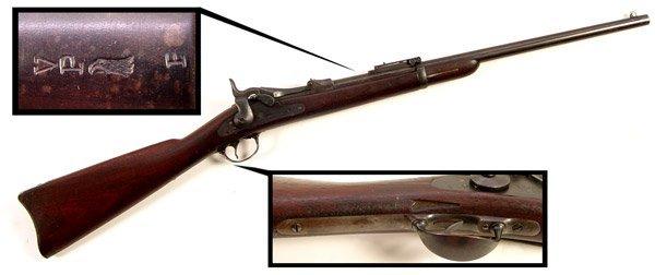 164: MODEL 1884 US SPRINGFIELD TRAPDOOR CARBINE - 5