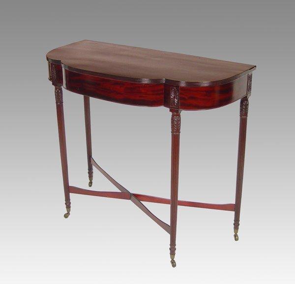 17: SHERATON DEMI LUNE TABLE