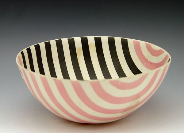 14: PHILLIP MAYBERRY PORCELAIN BOWL 1979
