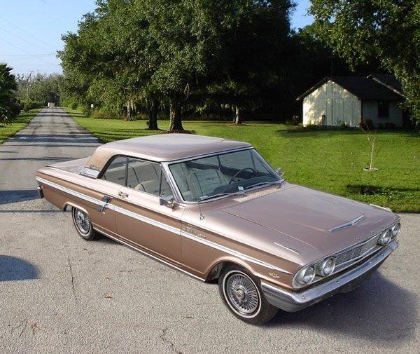 151: 1964 FORD FAIRLANE SPORT COUPE AUTOMOBILE - 2
