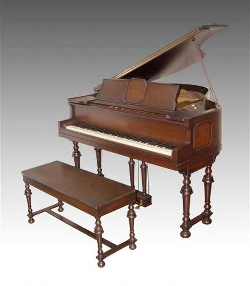 bd719fe0bd4 181  C. 1900 GEORGE STECK ROSEWOOD BABY GRAND PIANO