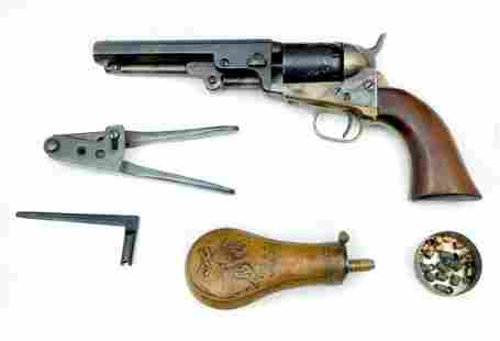 CASED COLT POCKET MODEL 1849 PISTOL