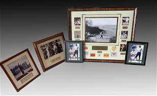 FRAMED GOLF PHOTO COLLECTION