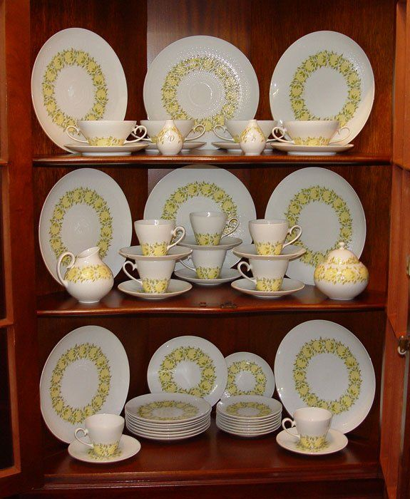 "479: 50 PC ROSENTHAL ""ROMANCE""  FINE CHINA  FOR 8"