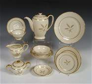 478: 103 pc ROSENTHAL IVORY GOLDEN WHEAT FINE CHINA
