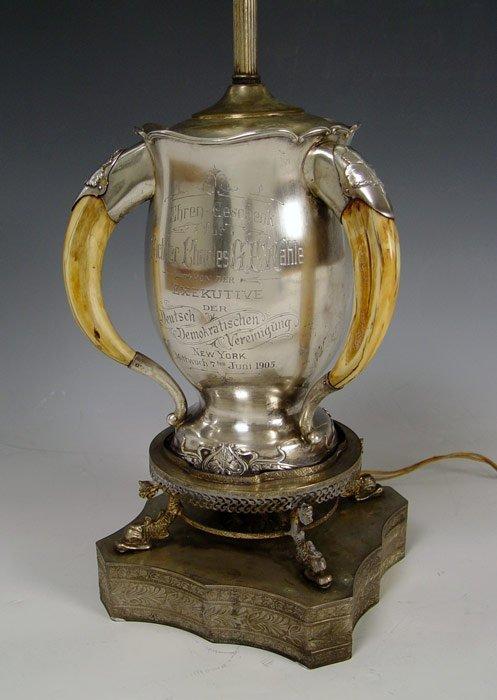 5: 1905 PRESENTATION LOVING CUP FROM GERMAN ASSOCIATION