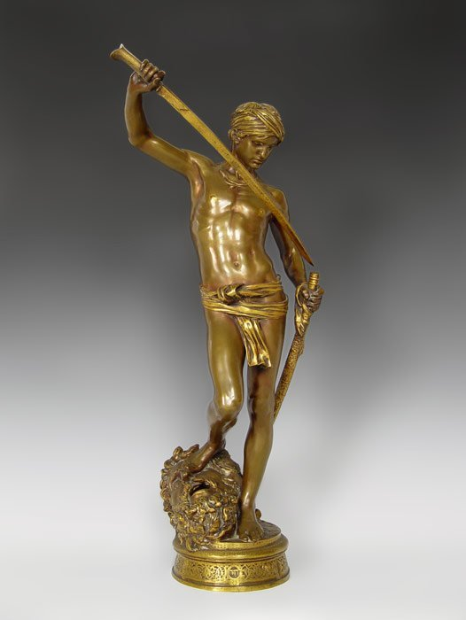 5: ANTONIN MERCIE BRONZE DAVID AFTER COMBAT