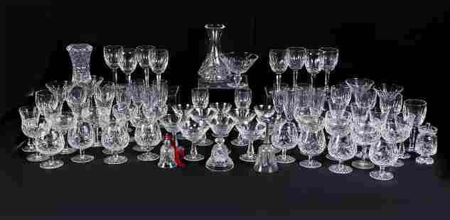 LARGE WATERFORD CRYSTAL COLLECTION